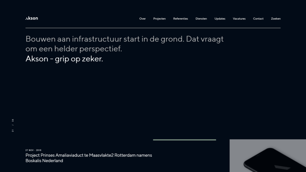 Interior Website Design Prices - Netherlands Example